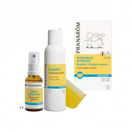 PRANAROM AROMAPAR PACK CHAMPU+SPRAY+LENDRERA