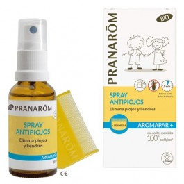 PRANAROM AROMAPAR SPRAY ANTIPIOJOS + LENDRERA
