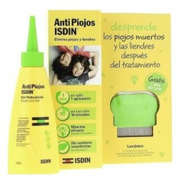 ANTIPIOJOS ISDIN PACK GEL PEDICULICIDA CON LENDRERA PEDICULICIDA