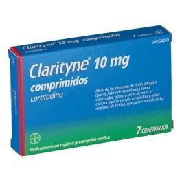 CLARITYNE 10 MG 7 COMP