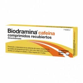 BIODRAMINA CAFEINA 12 COMP