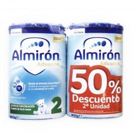 ALMIRON ADVANCE+ PRONUTRA 2  POLVO PACK AHORRO 50% 800 G 2 U