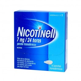 NICOTINELL 07 MG 24 H 14 PARCHES TRANSD