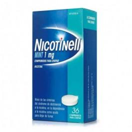 NICOTINELL MINT 1 MG 36 COMP