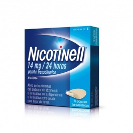 NICOTINELL 14 MG 24 H 14 PARCHES TRANSD