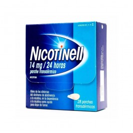 NICOTINELL 14 MG 24 H 28 PARCHES TRANSD