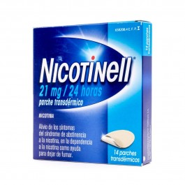 NICOTINELL 21 MG 24 H 14 PARCHES TRANSD