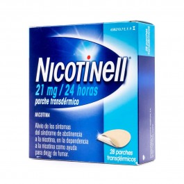 NICOTINELL 21 MG 24 H 28 PARCHES TRANSD