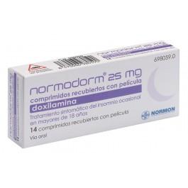 NORMODORM 25 MG 14 COMP