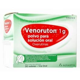 VENORUTON 1000 MG 30 SOB S/NARANJA