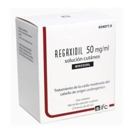 REGAXIDIL 5% 50 MG/ML SOL CUTANEA 3 X 60 ML (180 ML)