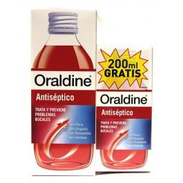 ORALDINE ANTISEPTICO 400ML+200ML