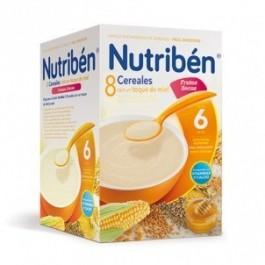 NUTRIBEN  8 CER MIEL FRUT SEC 600G