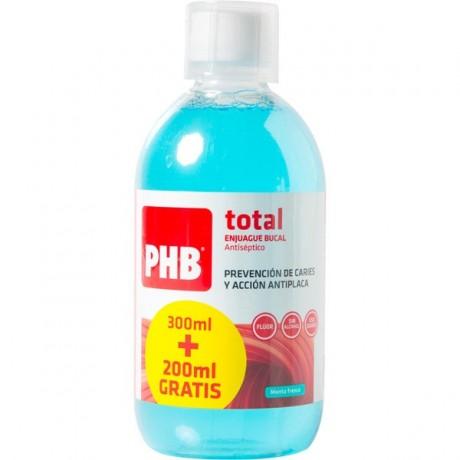 PHB ENJUAGUE BUCAL TOTAL 500 ML