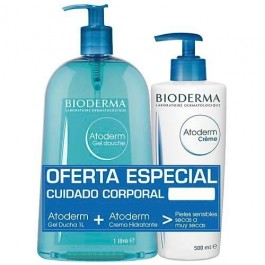 BIODERMA ATODERM PACK DUO GEL 1L + CREMA 500 ML