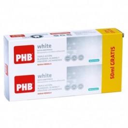 PHB PACK WHITE PASTA 200+50ML GRATIS