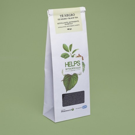 HELPS BOTANICALS TE NEGRO 100GR