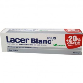LACERBLANC MENTA 150ML 125ML+20% G